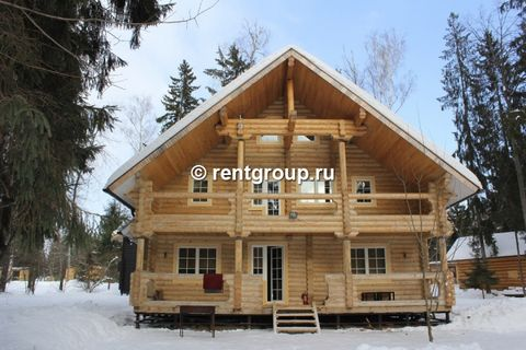 We offer to rent the estate with a total area of more than 1000 sq.m. It shall be for a day, weekends and holidays. The estate includes three cottages and the original landscape design. Cottages are equipped with everything necessary for the most com...
