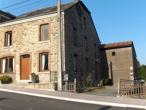 An ideal accommodation for families traveling together, in the heart of the Ardennes. The spacious and comfortable group accommodation is suitable for 15 adults and two babies. The well-equipped house includes two cozy apartments, each with its own e...