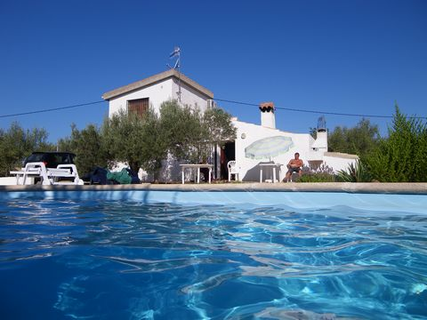 nice old finca, fully refurbished, in the middle of multi-centenials olive trees, only 4 km far from the beaches and the town, in the Delta of Ebro, very quiet, a little paradise