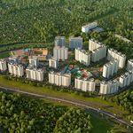 Продаётся новая уютная однокомнатная квартира - студия, 33 м, Внуково, Внуковское.