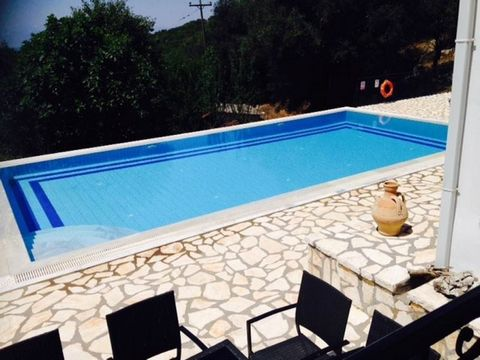 Luxury villa for sale .Set just on the outskirts of the quaint little village of Perithia, this large, well appointed two store property of 260 sq.m sits within its own large grounds of 5300 sq.m. which are surrounded by olive groves and woodland. Th...