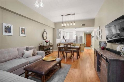 Beautiful unit w/ heated garage parking in the Allele, one of South Boston's most coveted buildings. This fantastic home features a new white kitchen w/ quartz counters, marble backsplash, breakfast bar & stainless appliances. The gracious layout off...
