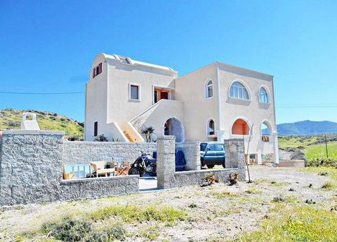 A new built house at Karteradom in total size of 400 q.m. For Sale the 1st Floor with the attic. The property enjoys beautiful sea views. It is a house of 2 levels. At the first floor there are 3 bedrooms (1 master bedroom), wc,, bathroom. There is a...
