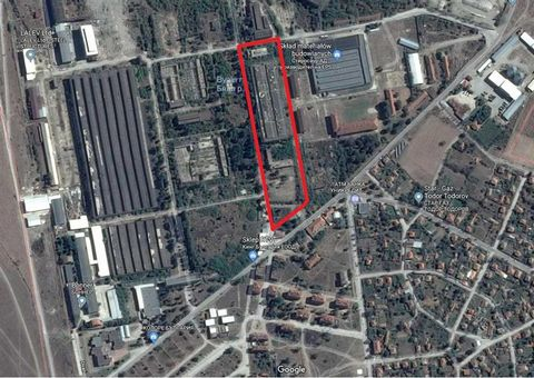Superb Plots of Land in Plovdiv Bulgaria Euroresales Property ID – 9824577 Property information: Industrial area consisting of two industrial plots with an area of 0,779 ha and 1,271 ha (together 2,05 ha) located in the village Wedrare in the municip...
