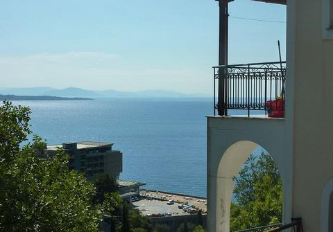 CORFU ISLAND. For sale an apartment house of 220 sqm, ground floor – 1st, 110 sqm each, airy, facade, build '98. Consists of 8 Independent Studios, 8 wc, storage room 110 sqm, in good condition. These are 8 studios of 15 sq.m. each. All have sea vie...