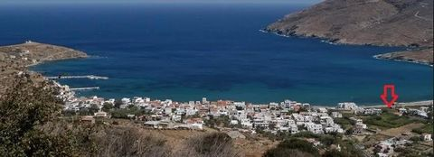 ANDROS, KORTHI. For sale aseafront plot ofland of 346.41 sq.m., even and buildable, within thecity plan, 100 meters from the sea, has unlimited views. It legally builds 258 sq.m. for residential use and 208 sq.m. for tourist / professional use. Price...