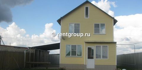 2-storied house 83 m (concrete blocks) on a plot of 10 cells. Warm, cozy, comfortable well-maintained house with no neighbors. On 1st floor: kitchen, living room, bathroom, toilet, on the 2nd floor: 2 cozy rooms, hall, cloakroom. Mains gas, electrici...