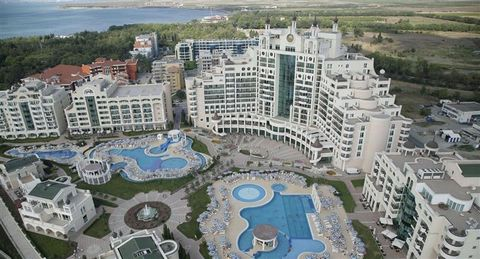 Superb One Bedroom Apartment Sunset Resort Complex Pomorie Bulgaria Euroresales Property ID – 9825096 Property information: For sale is this superb one-bedroom fully furnished apartment, in the stunning Sunset Resort in Pomorie Bulgaria. Sunset Resor...