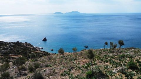 It is an absolutely wonderful buildable land in the area between Agia Galini and Agios Pavlos. The plot measures about 5000 m2 and falls into a light tourist development area. The constructibility is about 200 m2 plus 50% for the earth sheltered cons...