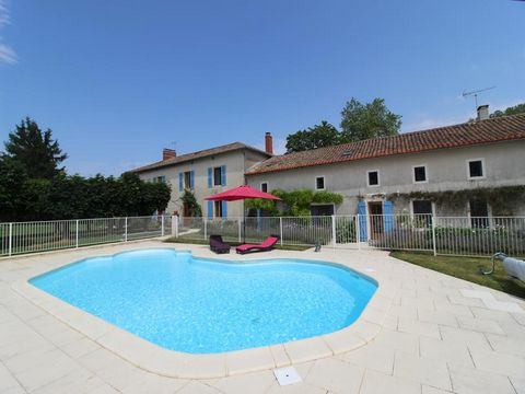 Stunning 6 Bedroom House For Sale in Lezay France Euroresales Property ID- 9825688 To contact the owner directly please email: rojo1841@icloud.com Property Information: This desirable country house is situated in an enviable location and is surrounde...