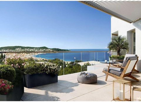 Nice West / Exceptional NEW program with SEA VIEW Panoramic: Expected delivery 3rd quarter 2021. 2-room apartments from 340,000 euros. Parking in the basement possible for 28,000 euros extra. This ADVERTISEMENT is GENERIC for all 2 pieces and is not ...