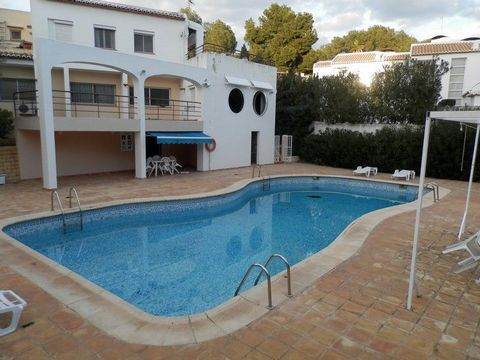 A 1 bedroom apartment in Moraira, Costa Blanca, with communal pool and open views, just 300 m from the beach. Apartment for sale in a prestigious area of Moraira, near the sea, just 500 m from the town of Moraira and 300 metres from the beach. This p...
