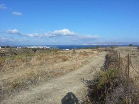 KOS island,  Iraklis area. For sale a plot of 10,000 sq.m., out of plan, buildable, build 200 sq.m., with sea view. Price € 220,000