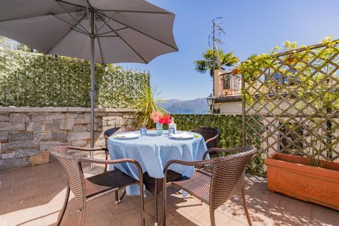 You will find this apartment in a beautiful, small-scale holiday complex right on Lake Maggiore. The complex consists of 15 modern apartments overlooking the lake - ideal for a family holiday! Guests have access to the beautiful private beach complet...