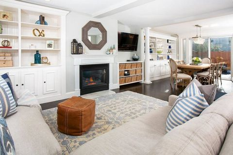 Located near Monument Square, this detached 4BR/2.5BA single family home offers 2,300+square feet and an ideal layout. The stunning open living space features a gas fireplace, built-in bookshelves, plantation shutters, and columns leading to an elega...