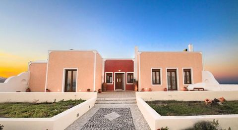 Nestled at the magical prehistoric area of Akrotiri, gazing the breathtaking views of the caldera and its volcano Occupying a privileged location at the west side of the island, the magisterial private deluxe villa offers serenity and relaxation in a...