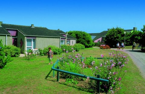 Discover the Cotentin Peninsula and the Channel Islands. The accommodations of the holiday village have been recently renovated. In a setting of 6 hectares scattered with dunes, the holiday village is composed of 100 detached houses, divided in hamle...