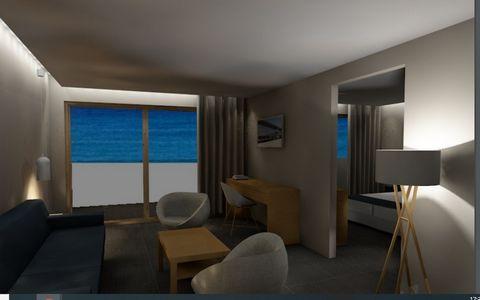 PRICE ON REQUEST ROOM SIZES Double: 20,74 – 22,00 m² | Junior Suite : 27,00 m² | Suite Deluxe : 41,00 m² |JUNIOR SUITE SEE VIEW WITH PRIVATE POOL GROUND FLOOR | AREA: 27,00 M² | 23 UNITS |JUNIOR SUITE SEA VIEW GROUND FLOOR | 27,00 M² | 27 UNIT |DOUBL...