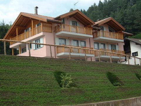 The residence is located in a sunny and quiet region with a magnificent view of the Lagorai Mountains (altitude 1250 m). At a distance of 1,5 km from Cavalese, location Marco this residence is close to some interesting facilities as the ice skating r...