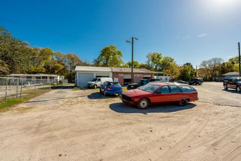 Come and enjoy this great compound manage your property from your house next door. Amazing opportunities with this commercial property zoned B-4. With more then 4 acres with 3 road fronts the possibilities are endless. On the first address coming fro...