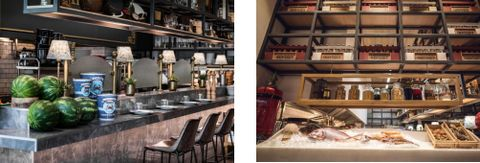 PRICE ON REQUEST Drawing inspiration from the magic of the sea, Smart Interiors highlighted Afropsaro, a seafood treasure in New Heraklion. Fresh ideas composed a modern restaurant environment. Shades of gray are combined with navy blue and natural w...