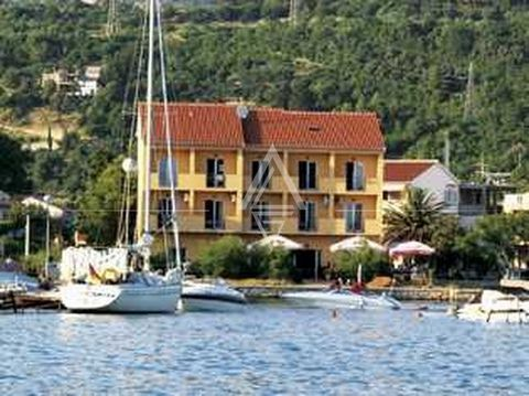 Hotel on the island of Rab is in the 1st row to the sea. 1st row to the sea, hotel on four floors with a total gross area of 800m2. Plot 818m2, with a beautifully landscaped yard and outdoor terrace of the restaurant. The hotel is modernly decorated....