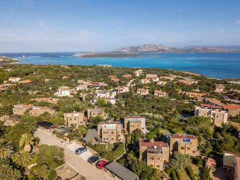 On the ground floor there is a large living area with table, chairs and sofas, one of which is a bed and a kitchenette; climbing the stairs there is a double bedroom with a wonderful sea view and a first bathroom; going down the stairs from the livin...