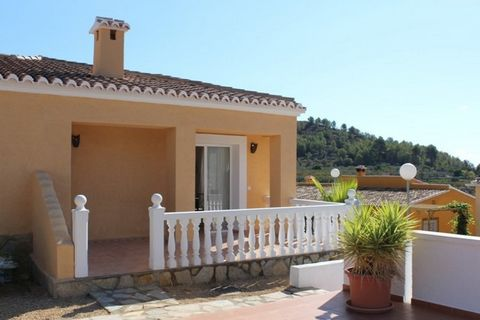 New built townhouse for sale located in Alcalali, Alicante, Costa Blanca, Spain. It is a short distance from the town which has all the services. The complex has only 8 houses. The townhouse is distributed in an entrance porch, a livingdining room wi...