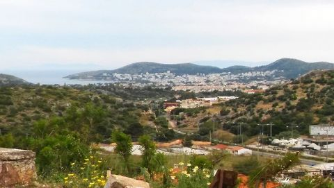 KOROPI Kitsi, plot of 456 sq.m, out of plan, sloping, 19×24, 1 sided, facade 19 m, fencing, 5 km from the sea, unlimited view mountain – sea, suitable for professional use (cultivation). In the future, it will be possible to obtain a building permit ...